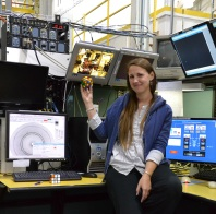 My first visit to APS in 2011, helping Josh Townsend with some experiments.
