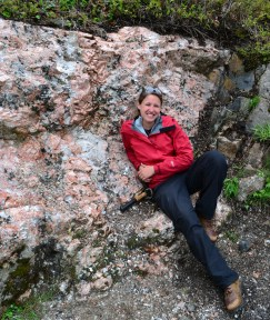 In the Upper Peninsula of Michigan, a nice roadside stop at an amazing pegmatite.