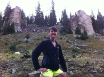 Visiting the continental divide with a group of NCSU Park Scholars, September 2013.