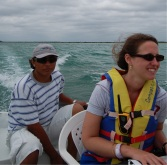 Racing around near Akumal during the 2010 EPS Yucatan Field Trip.