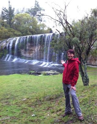 Falls at Rere, Waipaoa watershed, 2013.