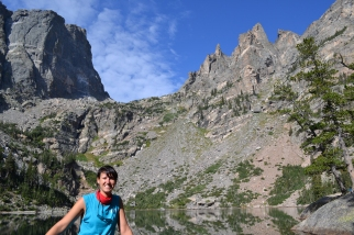 My first visit to Rocky Mountain National Park, September 2013.