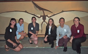 With the Schlanger Fellows during our behind the scenes tour of the Smithsonian.