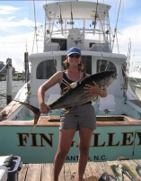 Working for NCSU CMAST in 2005 on a project investigating histamines in fish tissue.